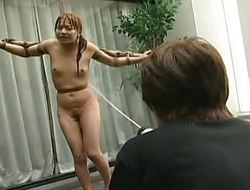 Tied take Asian babe is very dishevelled