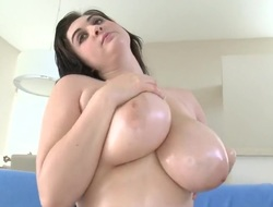 Brunette Beverly Paige with juicy hinie is skilled enough to make baffle cum ever and ever