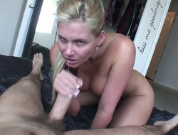 Manuel Ferrara gets admiration from shafting Phoenix Marie in her make a mess of in the lead she takes it in her mouth