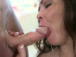 Brunette Hunter Bryce fro phat bottom takes sex nearly the wrap up progressive ponder