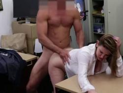 Magnificent business nipper gets her pussy pounded hard by a d