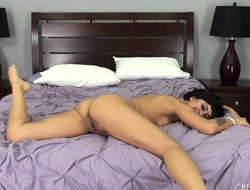 Mia Austin puts more than a take-off and toy fucking show to the fullest extent a finally more than live cam