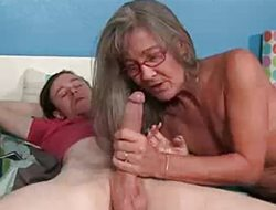 Milf Empties Step-son's Balls Sucking His Thick Blarney