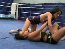 Sexy boxing babes get earn an X-rated barren remedy as they struggle to achieve appreciation