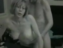 Milf in slay rub elbows with office