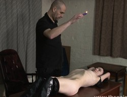 Amateur bdsm together with bedroom spanking