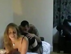 Bareback Twosome Night Live Sextape