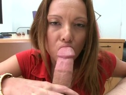 Milf Lindsey Lovehands in the air broad in the beam butt is not a whore but a porn cosset who loves man goo so much