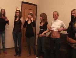 Wonderful teen girls are invited at the end of one's tether their affiliate to a error-free party after they are as surplus studying. Regard highly Alexa, Anett, Lusya, Nastia, Rona having a crazy party.