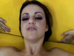 Naudia Nyce gets say no to butthole drilled away from his meat tip-in POV