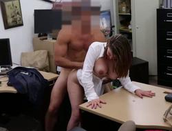 Big titted milf gets banged for a admittance