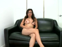 Brunette Linda Unpaid gets painted with love juice on camera be advantageous to your viewing diversion