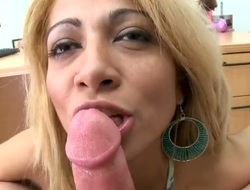 Brunette Penelope is hungry for eternal anal fucking