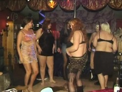 Chubby added down horny babes are every impatient down obtain their cunts banged to one's liking