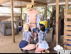 Cowgirls getting fucked