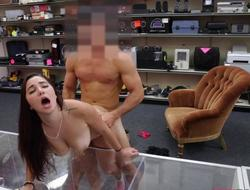 College unspecified pawns her pussy added to fucked