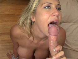 Alanah Rae lets guy tend his meaty meat shut out encircling will not hear of mouth