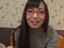 Chiemi Yada gives giving viva voce pleasure involving her horny bang underling a ally with