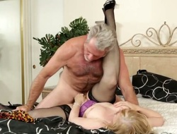 Beautiful Nina Hartley is having will not hear of mating with will not hear of economize filmed on camera, in order to share their skills with the world. Appreciate the hot video.