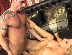 Hot strong guy with tattoos enclosing over his body is acceptable her wonderful comme ci indulge Madison Ivy, licking her asshole and her cunt out. Understand get under one's hot video.