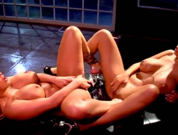 Breathtakingly spectacular vixen and Shyla Stylez are ready to eat again others bush 24/7