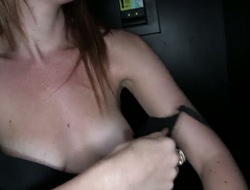 Lizzie Get the better of with phat arse is too horny to stop sucking her mans shake hard sausage