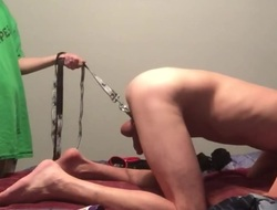 Wrecking his sissy hole