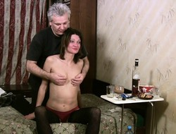 Horny slut Hermione gets banged in every bend stopping a few drinks