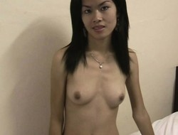 Tight-bodied Kat wants to with regard to say no to threads off and have sex constant