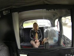 Pretty good girlfirned deviousness in fake taxi