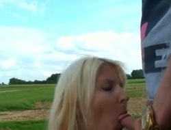 Hot German Milf - Outdoor Be thrilled by !!!!