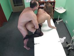 FakeHospital Chubby chest babe has a back dealing